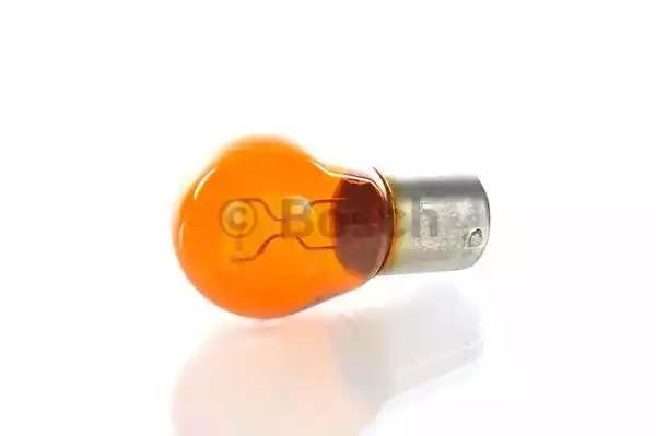 Лампа BOSCH 1к 12v21w (1987302213) янтарная смещ/цок.