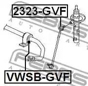 Втулка стабилизатора переднего VWSBGVF