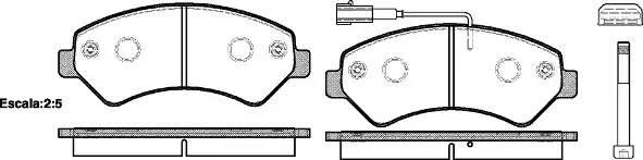 колодки тормозные передние R16
