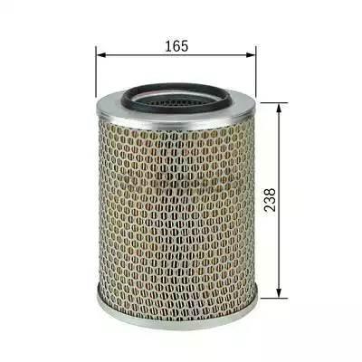 Фильтр воздушный, BOSCH, 1457429944