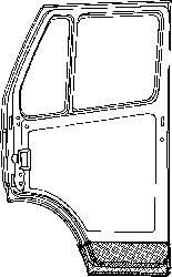 Ремкомплект правой передней двери внутренний MERCEDES SPRINTER, Volkswagen LT