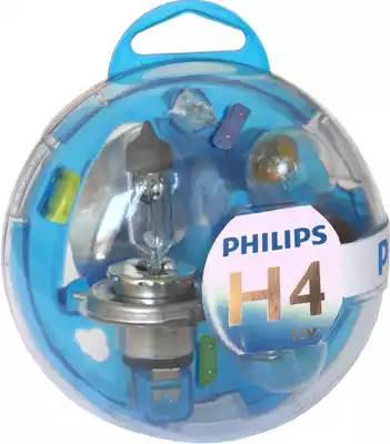 Лампа накаливания, 'H4' 12В 60/55Вт