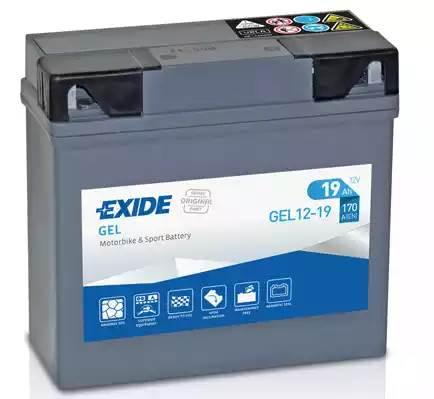 EXIDE GEL12-19