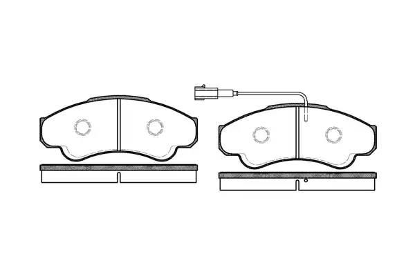 колодки передние Q18 R16