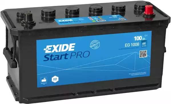 EXIDE 100Ah 680A R+