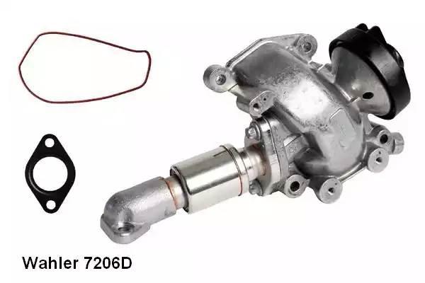 Клапан EGR OM611-612  Mercedes Sprinter W901-904