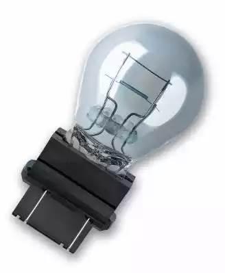 лампа 12V 27/7W (прозрачная) без цоколя