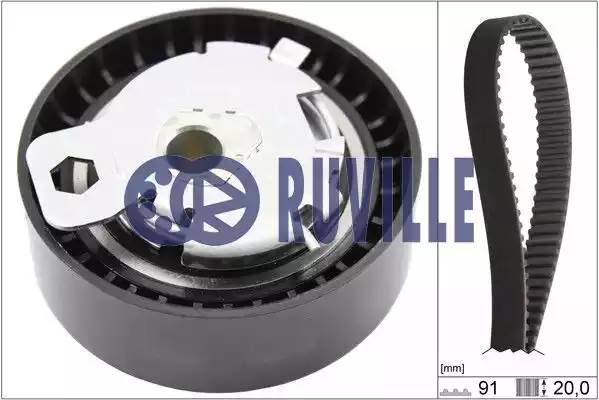 Комплект ремня ГРМ FORD C-MAX [2007 - ] RUVILLE 5523970