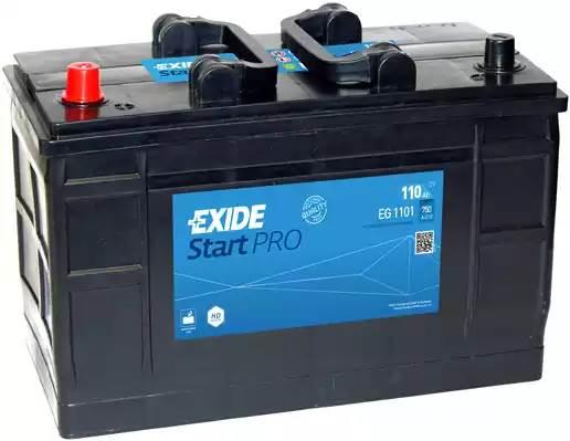 EXIDE 110Ah 750A L+