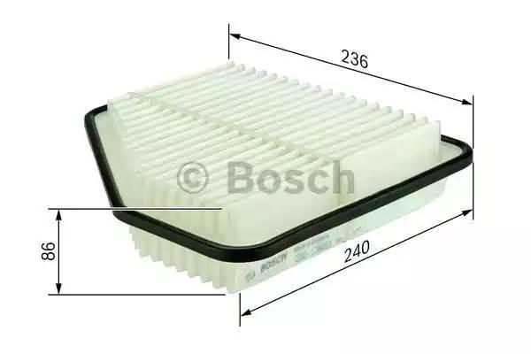 Фильтр воздушный, BOSCH, F026400176