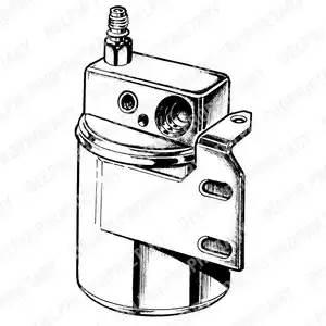 Осушитель кондиционера OPEL ASTRA G Наклонная задняя часть (F48_, F08_) [2000 - 2005] DELPHI TSP0175065