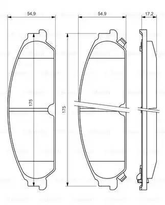 Передние тормозные колодки Додж Челленджер