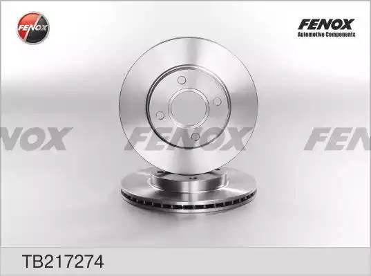 TB217274 диск тормозной передний Ford Focus/Fiesta all 98 tb217274