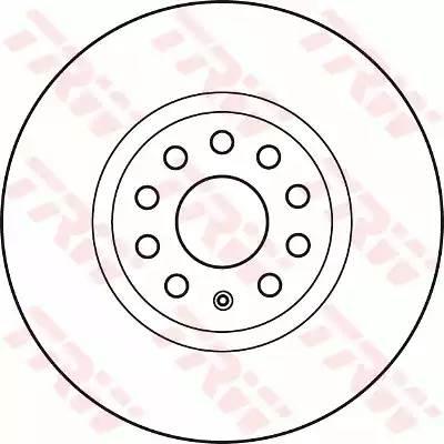 Диск тормозной передний DF4464S