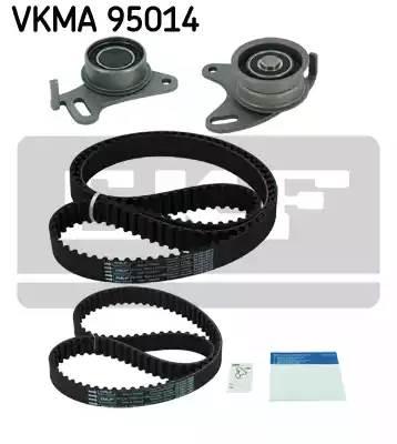 Ремень ГРМ 163 зуб. 25.4 мм.+ ремень балансира к-кт с роликами (2 шт) Mitsubishi L200 2.5 D/TD (см. VIN)