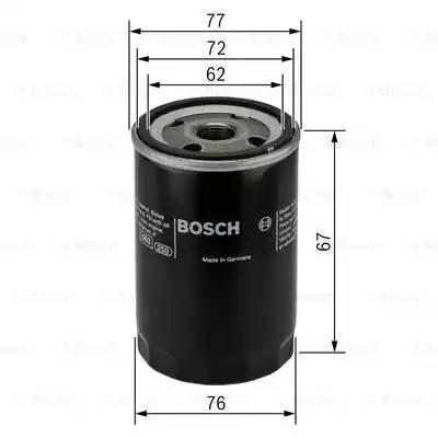 Фильтр масляный, BOSCH, 0451103300