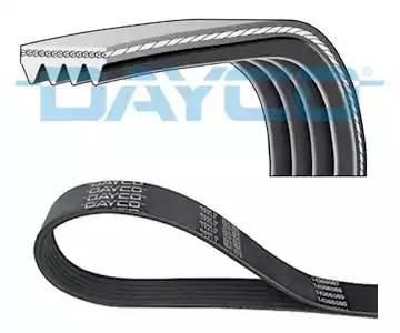 Ремень поликлиновый Dayco GAZ Siber (2.4l Chrysler):TO 1GFE - Altezza 98-05 (AC)::::