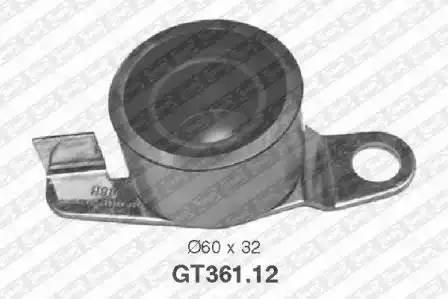 Ролик натяжной ремня ГРМ, SNR, GT36112