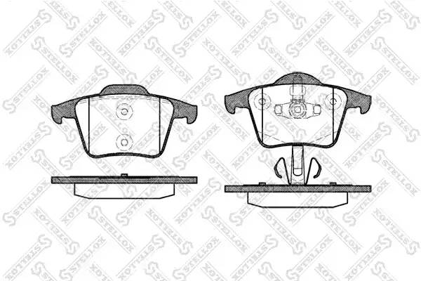 1055 000-SX 1044 00 колодки дисковые з. Volvo XC90 2.5iT/3.0i T6/2.4 D5 02