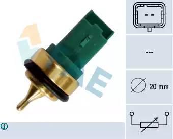 Датчик температуры 1007/206/207/307/PARTNER/С4 FAE