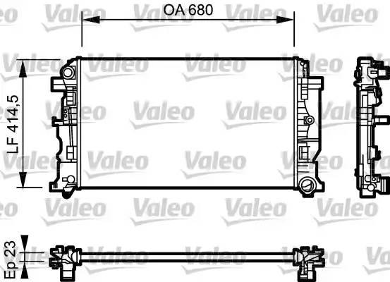 Радиатор 906-907 Крафтер