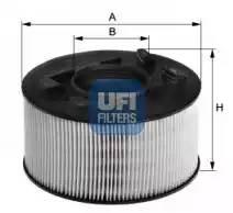 Фильтр воздушный, UFI, 2739400