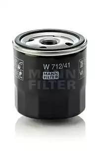 Фильтр масляный, MANN, W71241