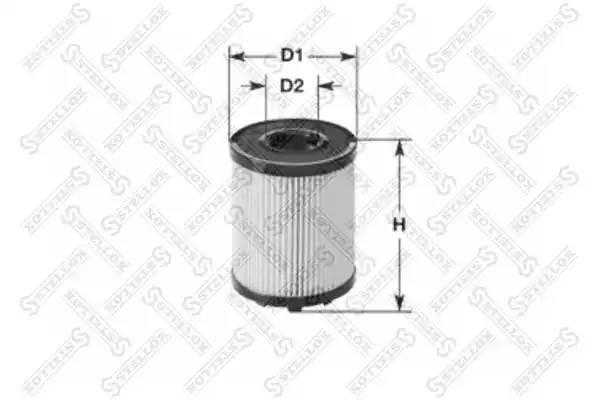Фильтр масляный, STELLOX, 2050182SX