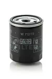 Фильтр масляный, MANN, W71273