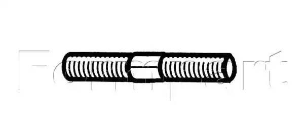 болт регулировочный рулевого наконечника (сгон)