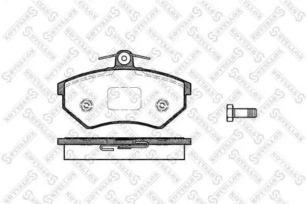 412 000-SX [A113501080] колодки дисковые п. Chery Amulet/QQ/Tiggo all 06
