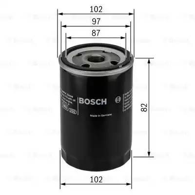 Фильтр масляный, BOSCH, 0451103270
