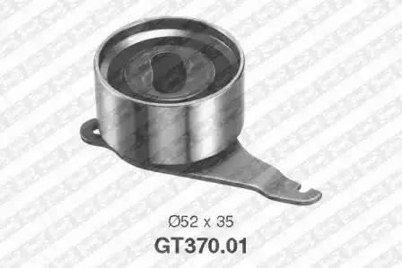 Ролик натяжной ремня ГРМ, SNR, GT37001