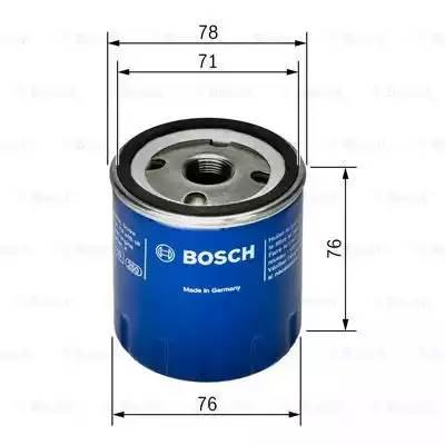 Фильтр масляный, BOSCH, F026407078
