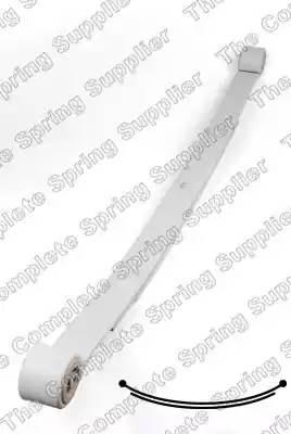 Рессора задняя Mercedes Sprinter W906 2 листа усиленная