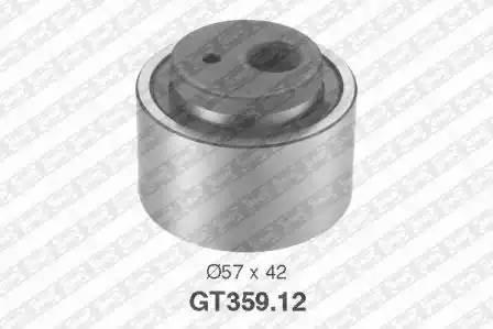 Ролик натяжной ремня ГРМ, SNR, GT35912