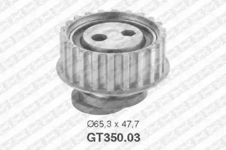 Ролик натяжной ремня ГРМ, SNR, GT35003