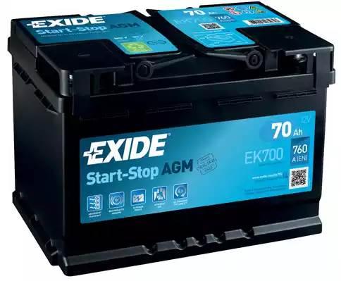 Exide Start-Stop AGM EK700