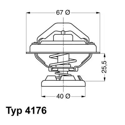 Термостат 601-602