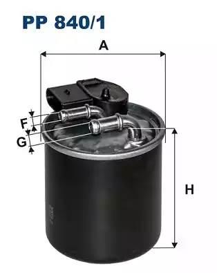 Фильтр топливный 906 OM651 с датчиком