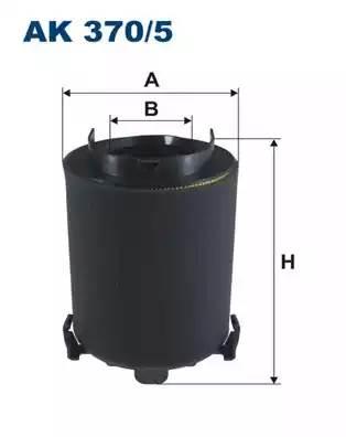 Фильтр воздушный, FILTRON, AK3705
