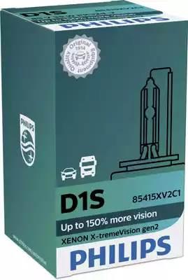 Лампа D1S X-tremeVision gen 2 4800k картон