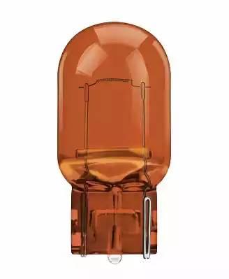 лампа 12V 21W без цоколя (желтая)