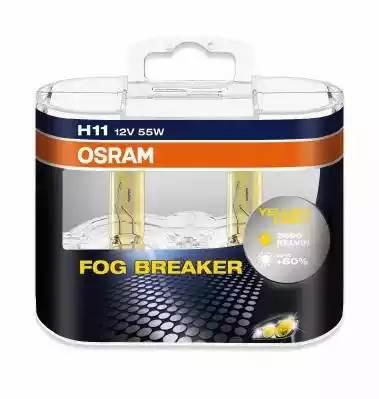 Комплект ламп H11 12V 55W PGJ19-2 FOG BREAKER +60% больше света, 2600К 2шт.(1к-т)
