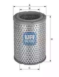 Фильтр воздушный, UFI, 2722800