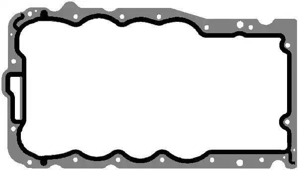 Прокладка поддона Opel Astra/Corsa Z12XE/Z14XEP Elring