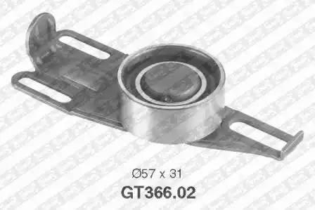 Ролик натяжной ремня ГРМ, SNR, GT36602