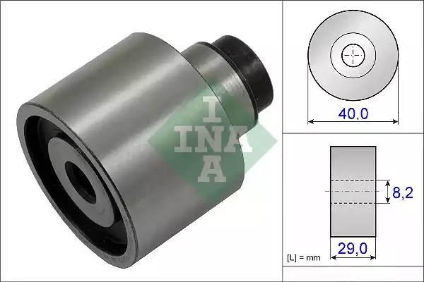 Ролик ведущий ремня ГРМ AUDI A1 (8X1) [2011 - ] INA 532 0623 10