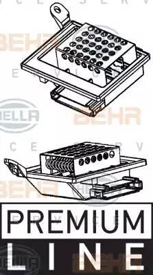Резистор вентилятора