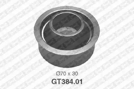 Ролик натяжной ремня ГРМ, SNR, GT38401